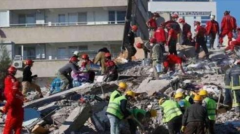 Hơn 40 người thiệt mạng do động đất ở Thổ Nhĩ Kỳ