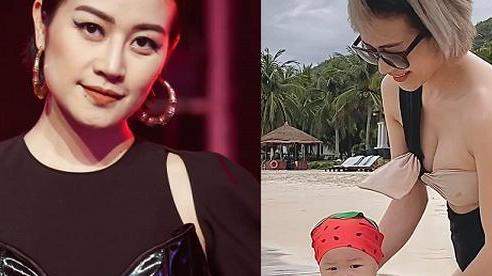 Cuộc sống 'mẹ bỉm sữa' đáng mơ ước của nữ MC chương trình King of Rap