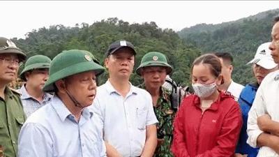 Hơn 18 ngày, 200 con người nỗ lực tìm người mất tích, thân nhân vào tận hiện trường Rào Trăng 3