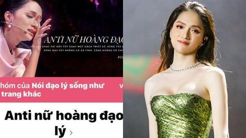 Admin group anti Hương Giang chính thức lên tiếng, gửi lời xin lỗi chân thành và tuyên bố sẽ đóng group