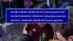 Ép buộc người khác uống rượu bia bị phạt 3 triệu đồng