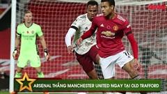 Điểm tin 02/11: MU thua Arsenal tại Old Trafford, Ronaldo đánh dấu sự trở lại sau mắc Covid bằng 1 cú đúp