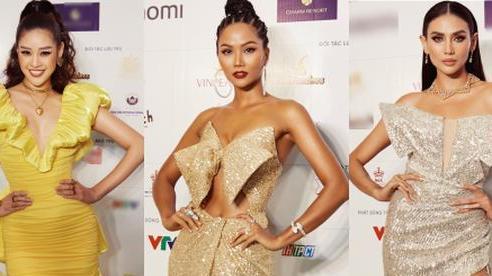 'Quân đoàn' Hoa hậu Á hậu đọ dáng nóng hừng hực tại sự kiện: H'Hen Niê quá ấn tượng, Tường Linh - Võ Hoàng Yến sexy không kém