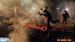 Lễ nhảy lửa của dân tộc Pà Thẻn
