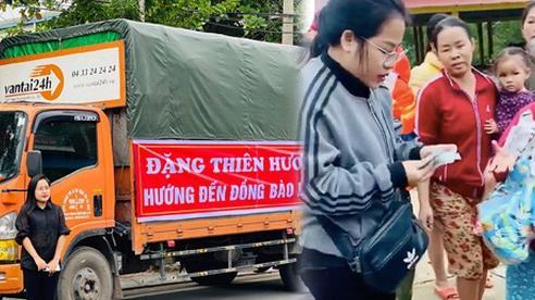 Người vợ giấu chồng ủng hộ 1,5 tỷ giúp đỡ bà con miền Trung: 'Mình phá sổ tiết kiệm đi mua đồ đạc trong 1 ngày, chuẩn bị rồi đi luôn'
