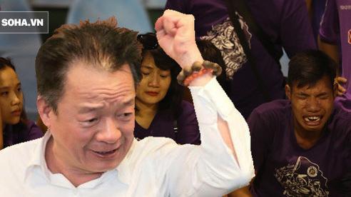 Câu nói của bầu Hiển, giọt nước mắt cay đắng từ CĐV & giá trị trong thất bại của Hà Nội FC