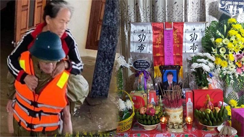 Chủ tịch xã ở Quảng Bình qua đời vì nhiễm trùng sau thời gian dài cứu người dân trong lũ