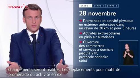 Pháp chuẩn bị nới lỏng phong tỏa để người dân mừng Giáng sinh