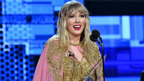 Taylor Swift thắng giải Nghệ sĩ của năm tại AMA 2020