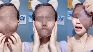 Đắp mặt nạ ngũ hoa phiên bản 'không thở được', đẹp không thì chưa rõ nhưng dân tình khẳng định: Pha xử lý quá cồng kềnh!