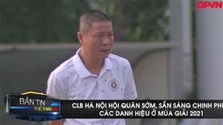 Tập trung sớm, CLB Hà Nội sẵn sàng đòi lại ngôi vương V.league
