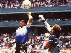 Hai bàn thắng lịch sử của Diego Maradona vào lưới Anh ở World Cup 1986