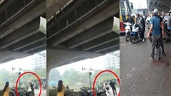 Chồng truy sát vợ và chị vợ trên đường phố Hà Nội vì mâu thuẫn nuôi con