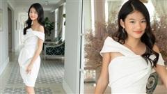 Nhan sắc xinh đẹp của cô con gái 12 tuổi, cao 1m6 của Trương Ngọc Ánh và Trần Bảo Sơn