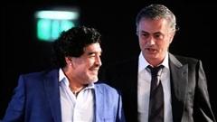 Mourinho tri ân Maradona, tiết lộ câu 'thần chú' giải tỏa mọi lo âu từ Cậu bé vàng