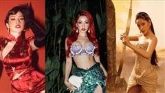 Chi Pu biến hoá đỉnh cao, từ quý cô Trung Hoa đến nữ thần Hy Lạp đều làm fan nổi da gà