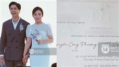 Rò rỉ thiệp cưới chính thức của Công Phượng, hé lộ thông tin về địa điểm tổ chức quá đặc biệt tại Nghệ An