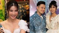 Diễm My 9X xinh như công chúa bên Quang Vinh nhưng tâm điểm chú ý lại thuộc về Lynk Lee với bộ đầm 'chặt chém'