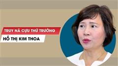 Bản tin cảnh sát: Truy nã đỏ bà Hồ Thị Kim Thoa; Thêm thông tin về sức khỏe ông Nguyễn Đức Chung