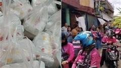 Mạng lag, bé gái 7 tuổi chốt đơn 'nhầm nhọt', 42 anh shipper áo hồng với 'full combo' gà rán, khoai tây... náo loạn cả khu phố
