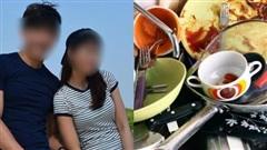 Vợ ốm nằm liệt giường, chồng để bát đĩa nguyên ngày không rửa với lí lẽ 'chuyện của đàn bà', vợ ra 'chiêu độc' khiến anh ta cun cút chạy đi làm ngay