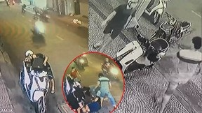 Thanh niên đi SH cầm dao rượt đuổi nhân viên quán chè vì không chỉ đường