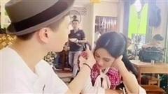 Diệu Nhi để lộ khoảnh khắc 'tình bể bình' của Trịnh Thăng Bình và Hoa hậu Đỗ Thị Hà, dân tình cười xỉu khi xem đến cái kết!