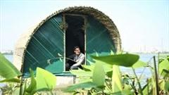 Xem nhà chống lũ kiểu tàu sân bay thả nổi thành công tại Hà Nội