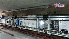 Xem robot đào hầm dài 100m, nặng 850 tấn thi công metro Nhổn-Ga HN