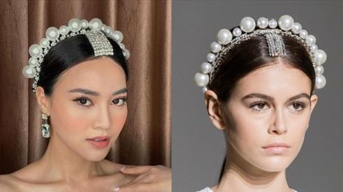 Vừa vướng drama thái độ với Thuỷ Tiên, Ninh Dương Lan Ngọc lại dính 'nghi án' dùng cài tóc Givenchy fake