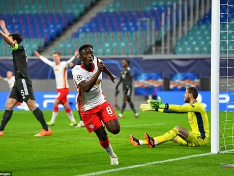 Cận cảnh RB Leipzig loại M.U khỏi đấu trường Champions League