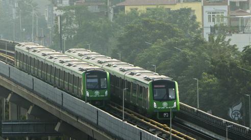 Cận cảnh chạy thử toàn hệ thống đường sắt Cát Linh - Hà Đông