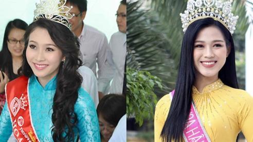 Loạt ảnh Đặng Thu Thảo về thăm trường gây sốt, netizen bỗng tranh cãi nảy lửa và bất ngờ réo tên Hoa hậu Đỗ Thị Hà