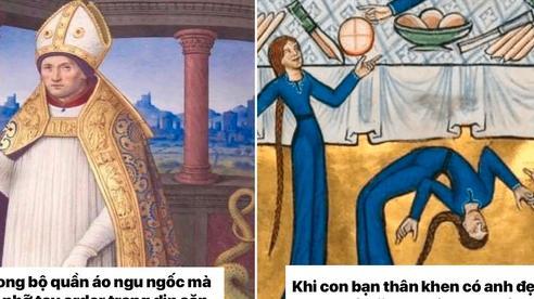 Loạt 'meme tranh cổ điển' cho thấy dân mạng có thể đem sự hài hước vào tất cả mọi thứ trên đời