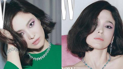 Song Hye Kyo gây bất ngờ khi táo bạo diện đồ hở, phụ nữ sau ly hôn xinh đẹp như nữ hoàng là đây