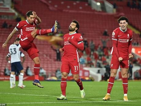 Cận cảnh Liverpool giành chiến thắng kịch tính trước Tottenham
