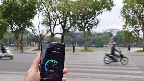 Mạng 5G thử nghiệm tại Hà Nội: Nhanh hơn 10-20 lần so với 4G