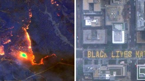 Chùm ảnh vệ tinh về những thứ đã định hình lại thế giới năm 2020: Nhìn từ trên cao mới thấy 1 năm vừa qua 'điên rồ' đến mức nào