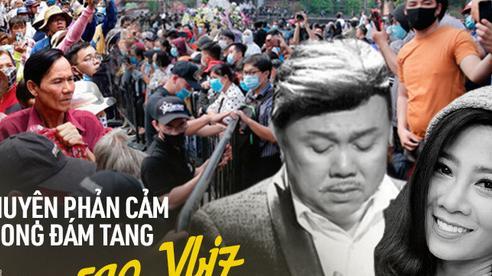 Chuyện phản cảm tại đám tang nghệ sĩ Vbiz: Đám đông cười đùa đến giật tài sản, vợ cố NS Chí Tài bị mạo danh vay 100 triệu