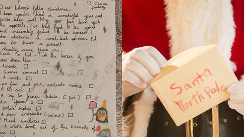 Thư gửi ông già Noel 'bá đạo' của bé gái 9 tuổi: Vé máy bay đi Pháp, điện thoại, tai nghe có đủ, nhất là yêu cầu cuối cùng ai nghe cũng 'bật ngửa'