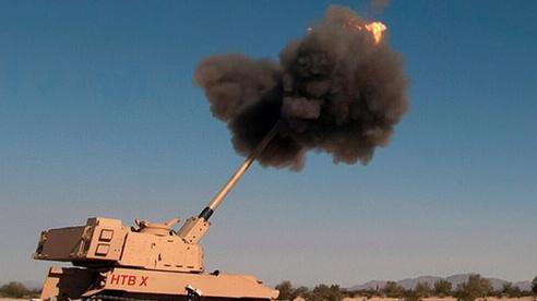 Mỹ thử nghiệm 'siêu pháo' tấn công chính xác mục tiêu cách 70km