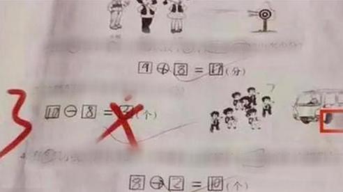 Đề bài: 'Xe 10 chỗ, có 7 trẻ đã chiếm ghế. Hỏi còn mấy chỗ?', đáp án không phải 3 khiến dân tình tròn mắt