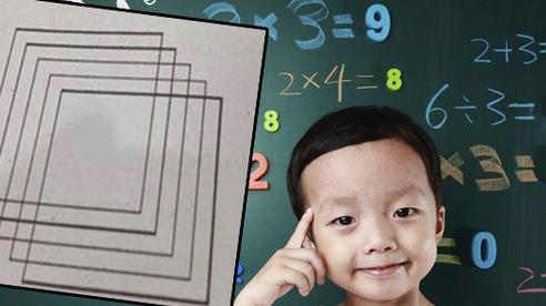 Bài toán tiểu học có bao nhiêu hình vuông, trông thì 'dễ như ăn kẹo' nhưng thách thức cả hội phụ huynh