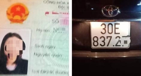 Nữ tài xế 'say ngất' lái ô tô trong đêm giao thừa