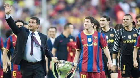 Ứng viên duy nhất giữ được Messi, áp đảo ghế Chủ tịch Barca