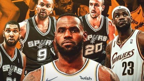 Sốc với những con số so sánh giữa LeBron James và San Antonio Spurs, bên nào xuất sắc hơn?