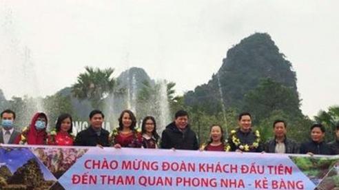 Phong Nha Kẻ Bàng (Quảng Bình): Đón hơn 1.000 lượt khách du lịch ngày đầu năm mới