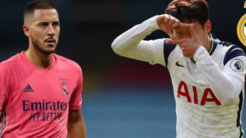 Real bán Hazard, gom tiền ký Son Heung Min