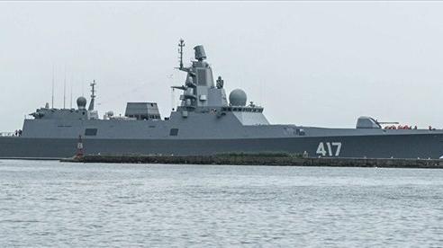 Khinh hạm 'Đô đốc Gorshkov' sẽ thực hiện một vụ phóng tên lửa siêu thanh Zircon