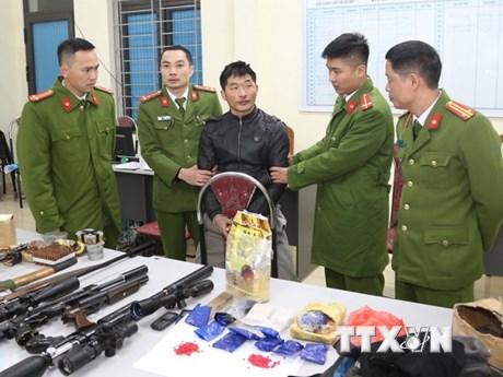 Sơn La: Thu giữ số lượng lớn ma túy và vũ khí quân dụng